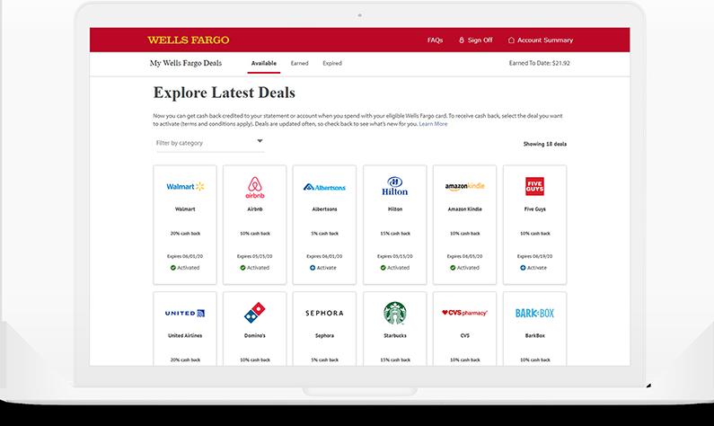 macbook opened showing customer targeted through mobile banking platform