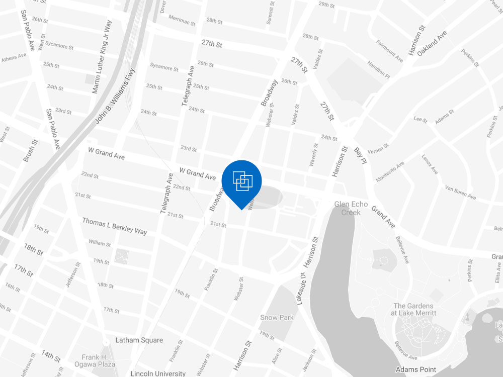 Cardlytics office on San Francisco map